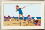 Clacton-on-Sea Framed Giclee Print by L Hocknell