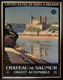 Chateau de Saumur Framed Giclee Print