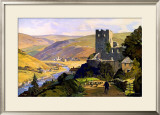 North East Dales, 1930 Framed Giclee Print by E Byatt