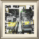 Two Cabs Prints by Vincent Gachaga