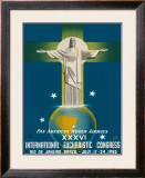 International Eucharistic Congress, Rio de Janeiro, Brazil, c.1955 Framed Giclee Print by  La Motta