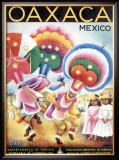 Oaxaca, Mexico Framed Giclee Print