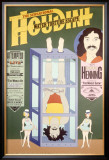 Houdini, Water Torture Escape Framed Giclee Print
