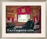 Harrogate: Come for Health, Stay for Pleasure Framed Giclee Print by Fred Taylor