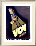 VOV Framed Giclee Print by Marcello Nizzoli