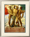 Turin, 1911 Framed Giclee Print