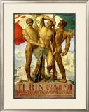 Turin, 1911 Framed Giclee Print