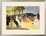 Scarborough, LNER Poster, 1935 Framed Giclee Print by Doris Clare Zinkeisen