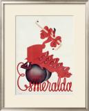 Esmeralda Framed Giclee Print