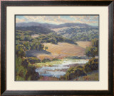 Golden Foothills II Print by Lois Johnson