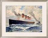 Aquitania Framed Giclee Print