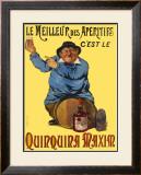Quinquina Maxim Framed Giclee Print