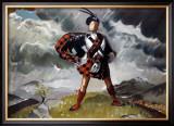 Western Highlands, LNER/LMS Poster, 1934 Framed Giclee Print by Doris Clare Zinkeisen