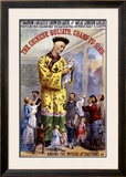 P.T. Barnum and the Great London Circus: The Chinese Goliath Framed Giclee Print by  Chang-Tu-Sing