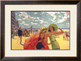 The Belgian Coast Framed Giclee Print by Arthur C Michael