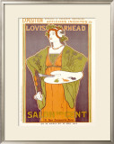Salon des Cent Framed Giclee Print by Louis John Rhead