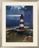 East Coast Landmarks, Happisburgh near Stalham, British Rail Framed Giclee Print by Frank Mason