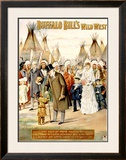 Buffalo Bill's Wild West, Visit of Majesties Framed Giclee Print by Arthur Jule Goodman