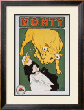Beurre Monty Framed Giclee Print by E. Paul Villefroy