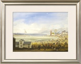 Beach Scene Limited Edition Framed Print by Braaq Braaq