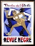 La Revue Negre Framed Giclee Print by Orsi 