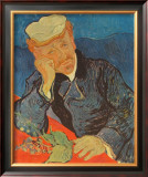 Dr. Paul Gachet, c.1890 Art by Vincent van Gogh