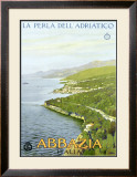 Abbazia, The Pearl of the Adriatic Framed Giclee Print