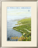 Abbazia, The Pearl of the Adriatic Framed Giclee Print