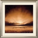 Suffolk Sunset Art by Robert J. Ford