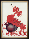 Esmeralda Framed Giclee Print