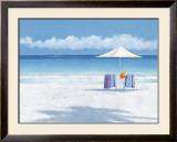 Beach Life II Prints by Isabelle Aubonne