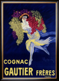 Cognac Gautier Framed Giclee Print by Leonetto Cappiello