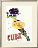 Travel to Cuba Framed Giclee Print