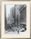 New York City, Wall Street Framed Giclee Print