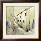 Village I Prints by Ingeborg Dreyer