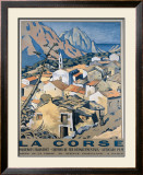 La Corse Framed Giclee Print by Andre Strauss