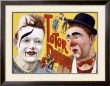 Totor et Dudule Framed Giclee Print