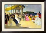 Scarborough, LNER Poster, 1935 Framed Giclee Print by Doris Clare Zinkeisen