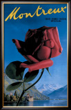 Montreux Framed Giclee Print