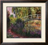 Pont Japonais-Bassin aux Nympheas Prints by Claude Monet