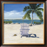 Beach Chair Posters by Laurie Chase