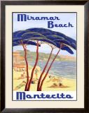 Santa Barbara Miramar Beach Framed Giclee Print