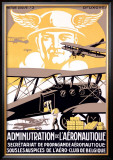 Administration de l'Aeronautique Framed Giclee Print by Michielssen