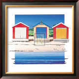Boat Shed Colour Posters by B. Walsh