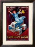 Cordon Bleu Framed Giclee Print by Henry Le Monnier