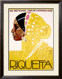 Riquetta Framed Giclee Print by Ludwig Hohlwein