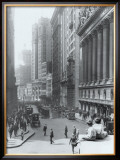 New York City, Wall Street Framed Giclee Print