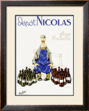 Nicolas Fines Boutelles Aperitf Framed Giclee Print