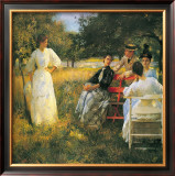In the Orchard, 1891 Prints by Edmund Charles Tarbell