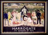 Harrogate Framed Giclee Print by Anna Katrina Zinkeisen